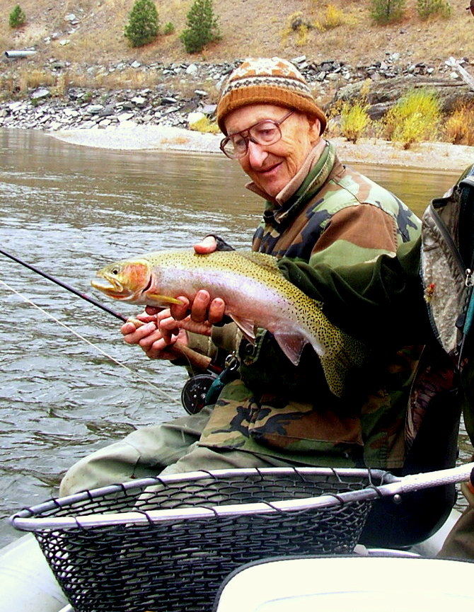 Terry on the Lower Clark Fork October 2005