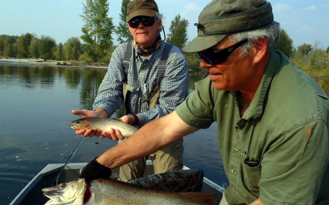 Ken Eastwood on Clark Fork River